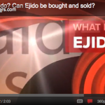 VideoBlog: What is an Ejido? Can Ejido be bought and sold?